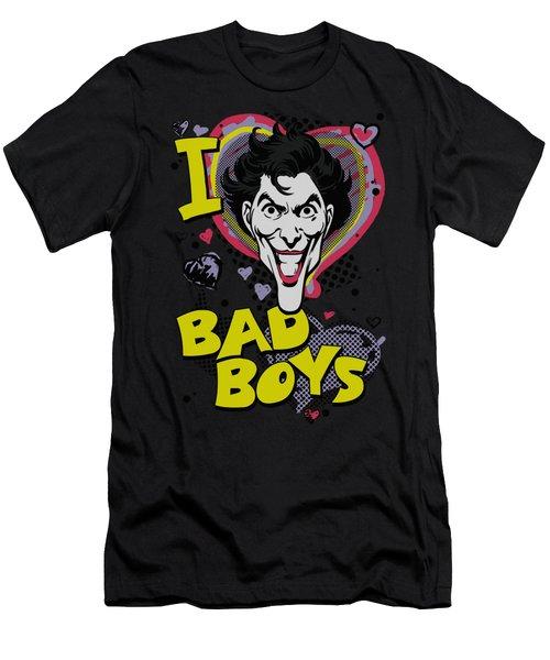 Dc - I Heart Bad Boys 2 Men's T-Shirt (Athletic Fit)