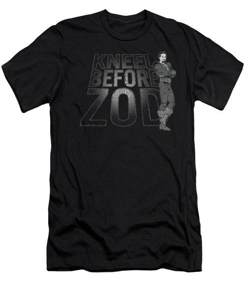 Dc - Kneel Zod Men's T-Shirt (Athletic Fit)