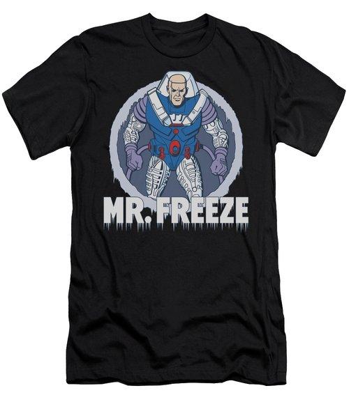 Dc - Mr Freeze Men's T-Shirt (Athletic Fit)