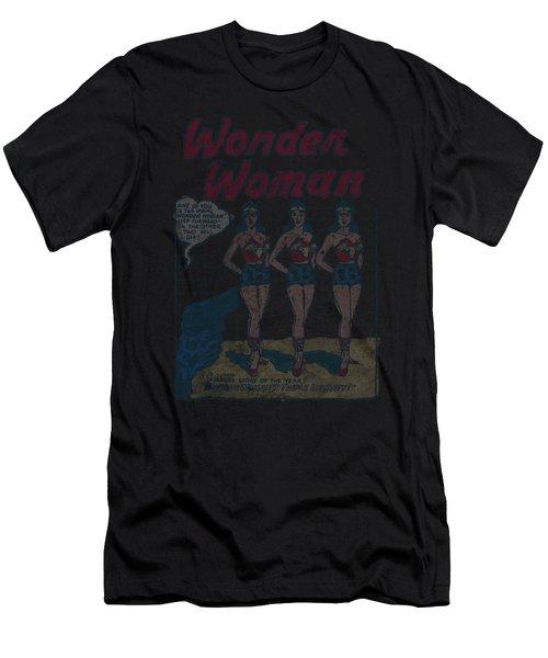 Dc - Multiple Ww Men's T-Shirt (Athletic Fit)