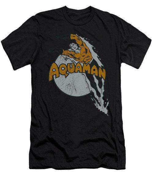 Dc - Splash Men's T-Shirt (Athletic Fit)