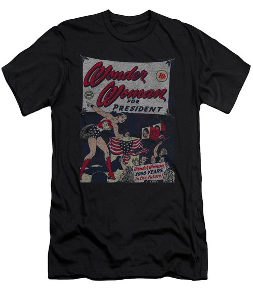 Dc - Ww For President Men's T-Shirt (Athletic Fit)