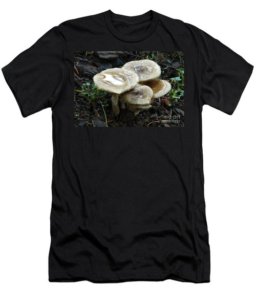 Men's T-Shirt (Slim Fit) featuring the photograph Deadly Beauty 1 by Chalet Roome-Rigdon