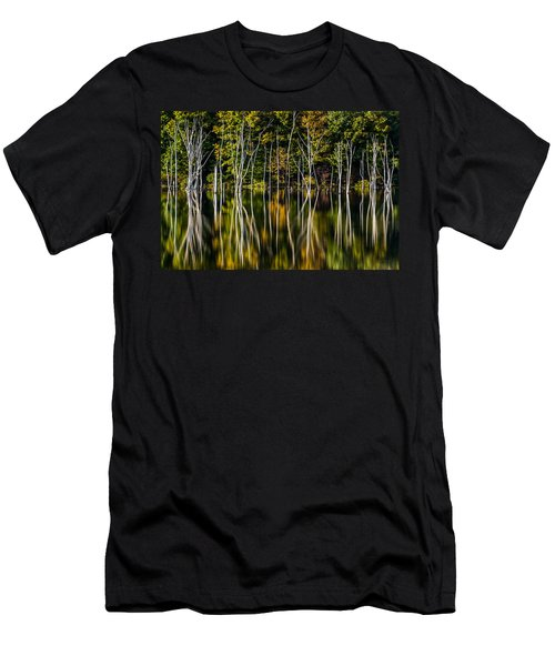 Men's T-Shirt (Slim Fit) featuring the photograph Deadwood by Mihai Andritoiu
