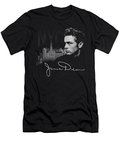 Dean - City Life Men's T-Shirt (Slim Fit) by Brand A