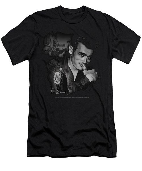Dean - Mischevious Large Men's T-Shirt (Athletic Fit)