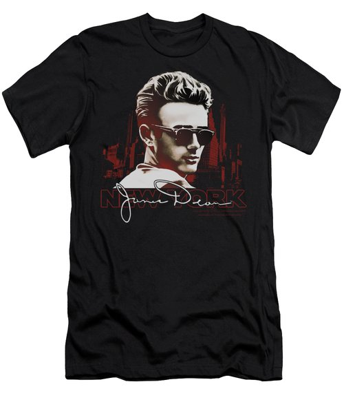 Dean - New York Shades Men's T-Shirt (Slim Fit) by Brand A