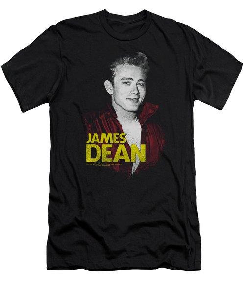 Dean - Red Jacket Men's T-Shirt (Athletic Fit)