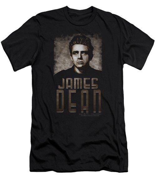 Dean - Sepia Dean Men's T-Shirt (Slim Fit) by Brand A