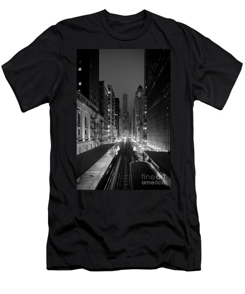 Dear Chicago You're Beautiful Men's T-Shirt (Athletic Fit)