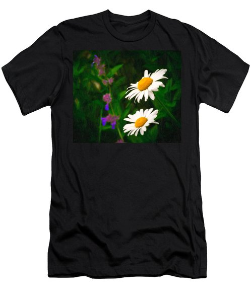 Men's T-Shirt (Athletic Fit) featuring the photograph Dear Daisy by Garvin Hunter
