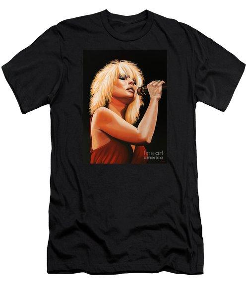 Deborah Harry Or Blondie 2 Men's T-Shirt (Athletic Fit)