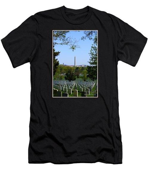 Debt Of Gratitude Men's T-Shirt (Slim Fit) by Patti Whitten