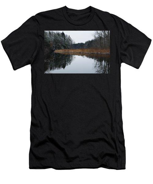 December Landscape Men's T-Shirt (Athletic Fit)
