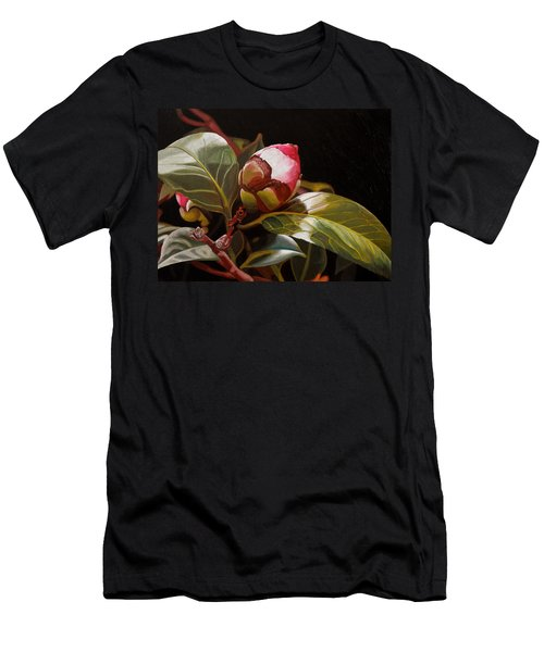 December Rose Men's T-Shirt (Athletic Fit)