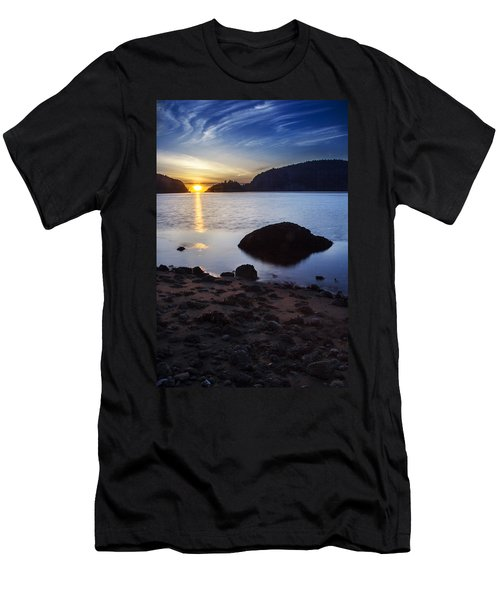 Deception Pass 3 Men's T-Shirt (Slim Fit) by Sonya Lang