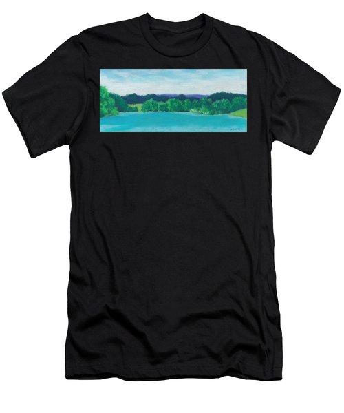 Deep Breath Men's T-Shirt (Athletic Fit)