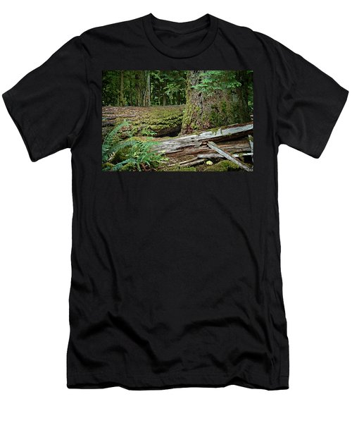 Deep In The Forest Men's T-Shirt (Athletic Fit)