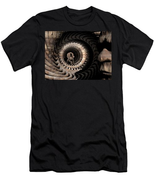 Deep In Thought Men's T-Shirt (Slim Fit) by John Alexander