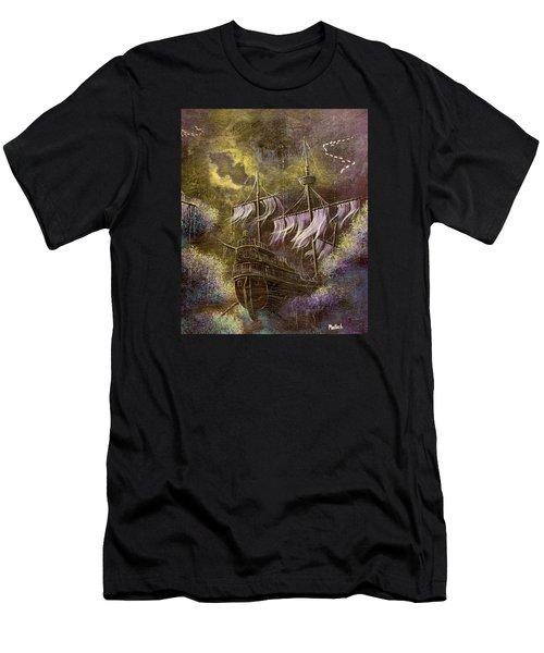 Deep Peace Men's T-Shirt (Athletic Fit)