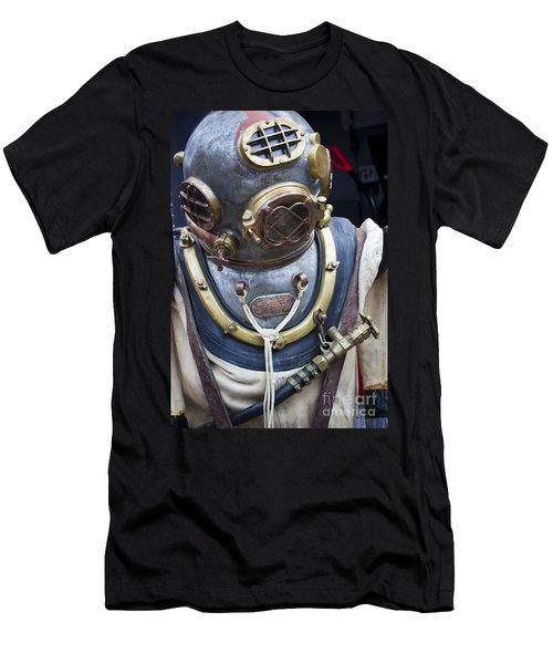 Deep Sea Diving Gear Men's T-Shirt (Slim Fit) by Chris Dutton