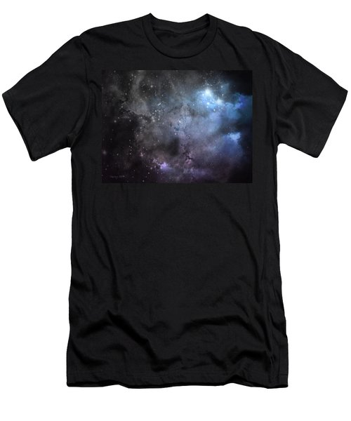 Men's T-Shirt (Slim Fit) featuring the photograph Deep Space by Cynthia Lassiter