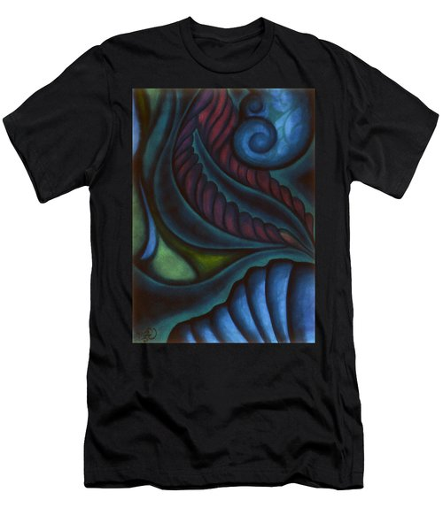 Men's T-Shirt (Slim Fit) featuring the pastel Deep by Susan Will