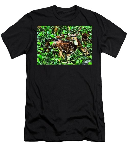 Deer's Green Day Men's T-Shirt (Athletic Fit)