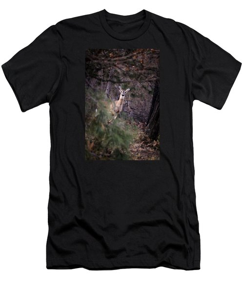 Deer's Stomping Grounds. Men's T-Shirt (Athletic Fit)