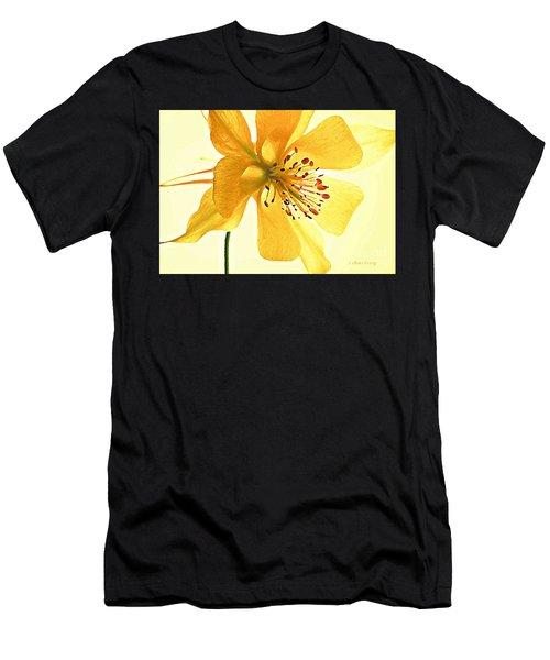 Delicate Columbine  Men's T-Shirt (Athletic Fit)
