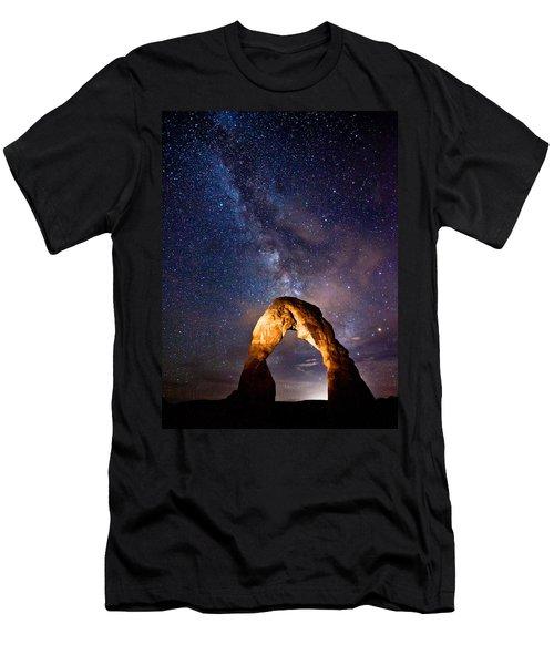 Delicate Light Men's T-Shirt (Slim Fit) by Darren  White
