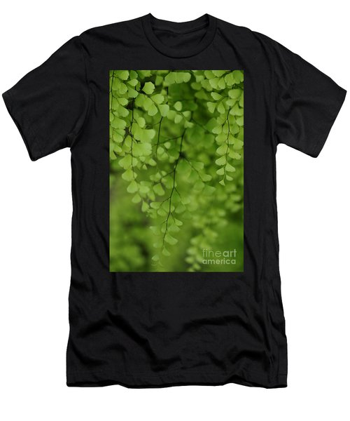 Men's T-Shirt (Athletic Fit) featuring the photograph Delicate by Linda Shafer