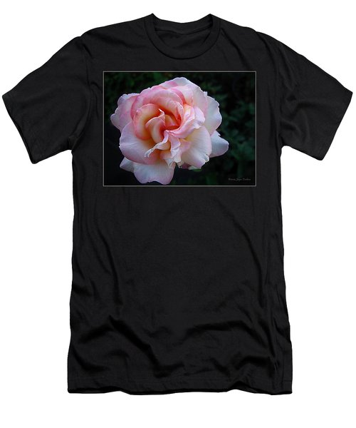 Delicate Pink Men's T-Shirt (Slim Fit) by Joyce Dickens