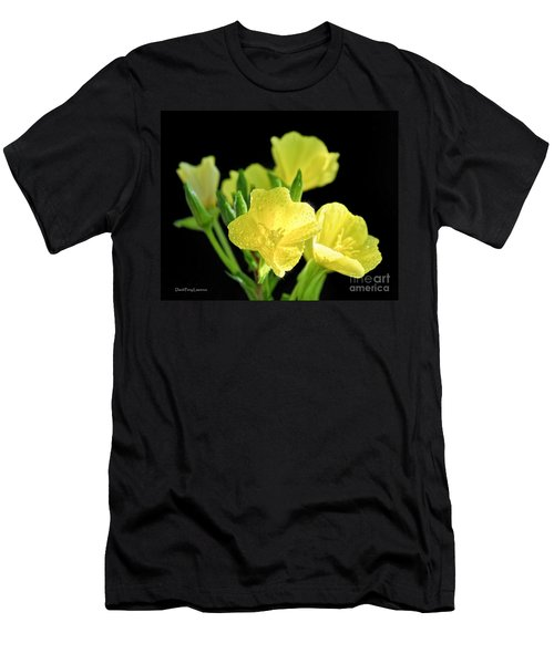 Delicate Yellow Wildflowers In The Sun Men's T-Shirt (Athletic Fit)