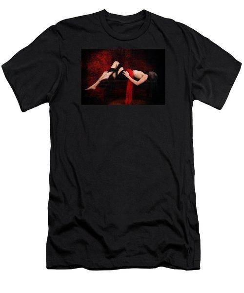 Delicious Vampire Treat Men's T-Shirt (Athletic Fit)