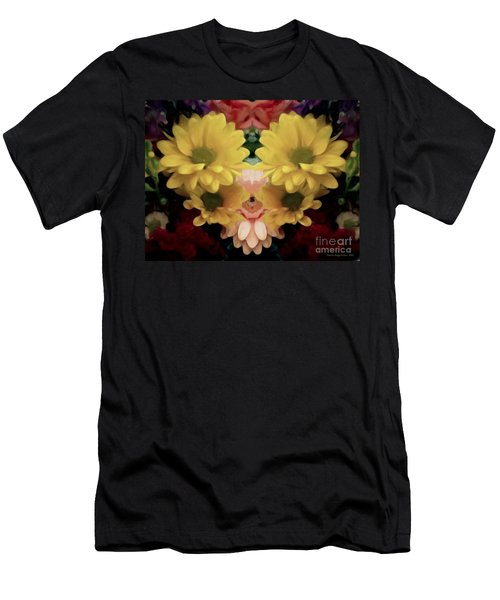 Men's T-Shirt (Slim Fit) featuring the photograph Delightful Bouquet by Luther Fine Art