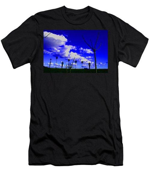 Delta Clouds Men's T-Shirt (Athletic Fit)