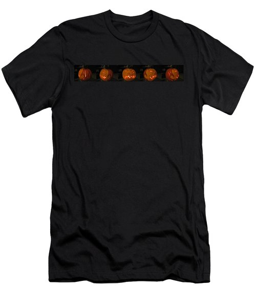 Demented Mister Ullman Pumpkin 2 Men's T-Shirt (Slim Fit) by Shawn Dall