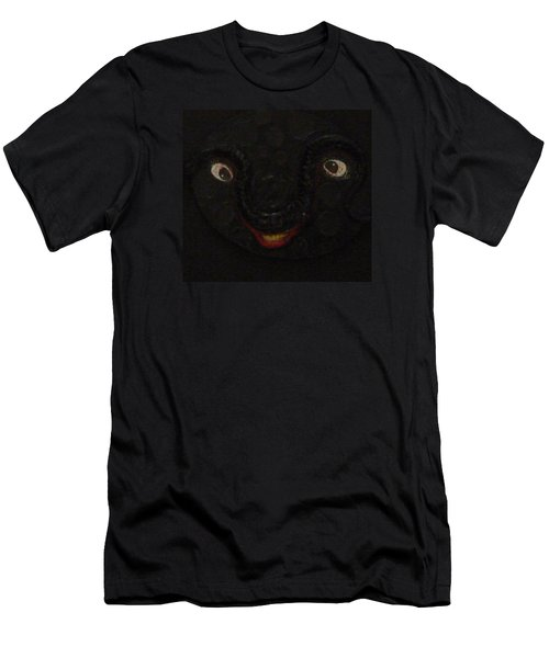 Dark Smile Men's T-Shirt (Slim Fit) by Douglas Fromm