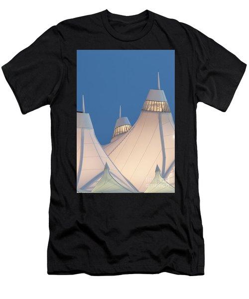Denver International Airport Men's T-Shirt (Athletic Fit)