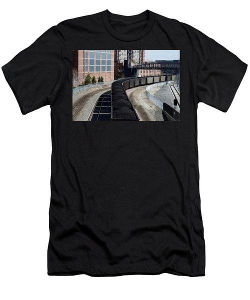 Denver Rail Yard Men's T-Shirt (Athletic Fit)