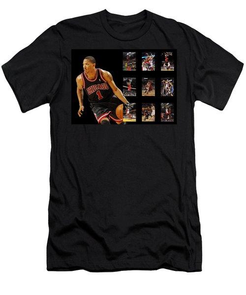 Derrick Rose Men's T-Shirt (Athletic Fit)