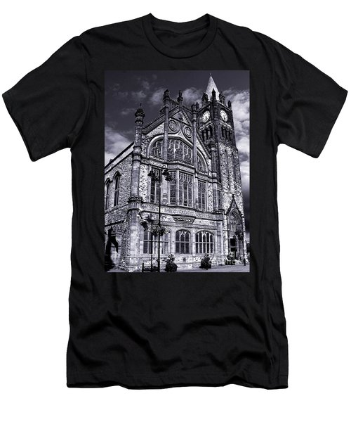 Derry Guildhall Men's T-Shirt (Slim Fit) by Nina Ficur Feenan