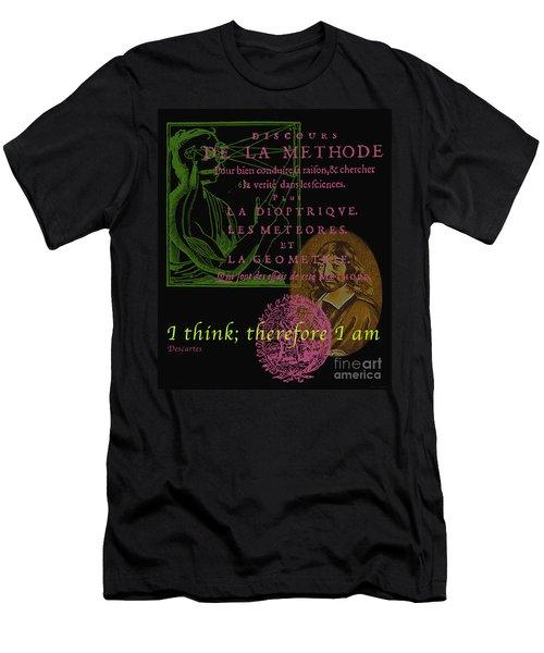 Descartes Men's T-Shirt (Athletic Fit)
