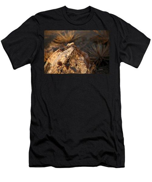 Desert At Sunrise Men's T-Shirt (Athletic Fit)