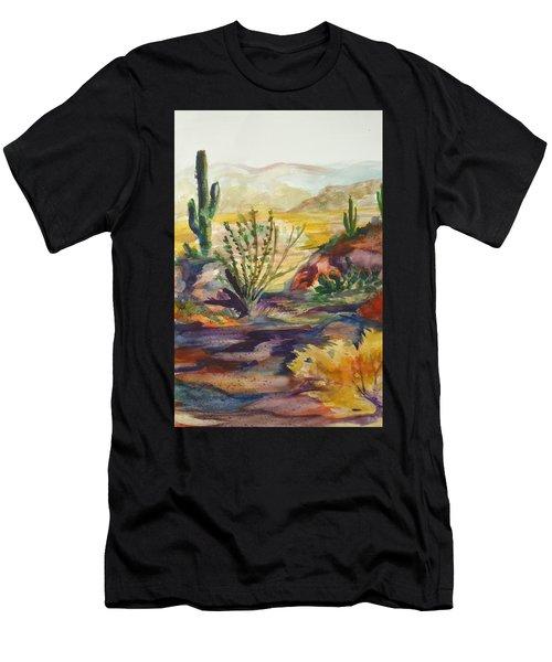 Desert Color Men's T-Shirt (Athletic Fit)