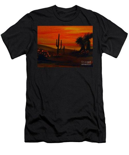 Desert Dance Men's T-Shirt (Athletic Fit)