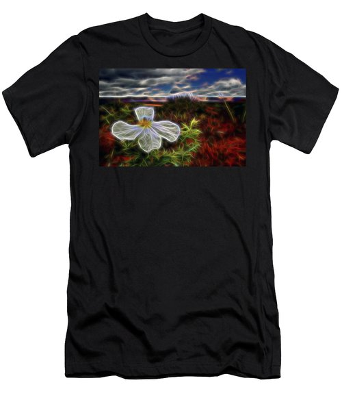 Desert Primrose 1 Men's T-Shirt (Athletic Fit)