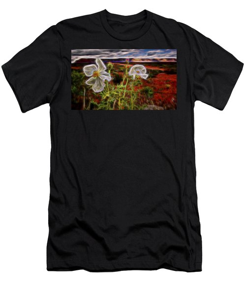 Desert Primrose 2 Men's T-Shirt (Athletic Fit)