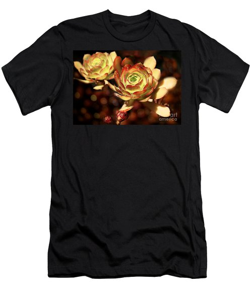 Desert Roses Men's T-Shirt (Athletic Fit)